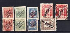 Briefmarken Georgien 1923 Lot Sammlung