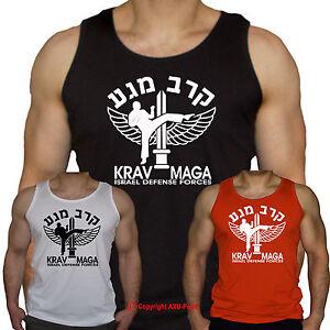 KRAV MAGA - Israel Defense Forces - martial arts - vest -  S-XXL
