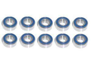 10x Kugellager MR105 2RS 5x10x4 mm Miniaturkugellager Rillenkugellager Wälzlager