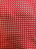 DONALD TRUMP SILK DRESS TIE ~RED WHITE BRICK CHECK ~ XL TALL LONG BIG ~ 61""