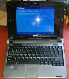 """Acer Aspire One KAV10 10.1"""" Netbook Laptop 1.6ghz 1gb 160gb WIN XP Factory Reset"""