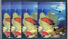 """2002 - 4 SHEETS """" PECES, FISHES """" NEW MINT"""
