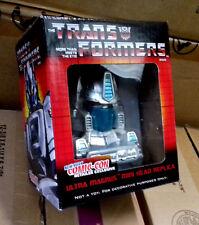 "Transformers New York Comic Con Exclusive ULTRA MAGNUS 5"" robot figure head bust"