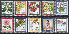 Cook Islands 1969 SC 122-131 MNH Set Flower