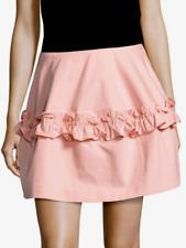 J Brand Simone Rocha Cotton Ruffled Skirt Pink NWT $320