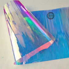 PVC Holographic Clear Film Mirrored Foil Holographic Vinyl Graphic Crafts Bags