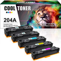 5 Pack Compatible for HP CF510A 204A Toner LaserJet Pro MFP M180nw M181fw M154a
