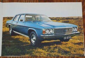 1975 Chevrolet Constantia Südafrika RSA South Africa Prospekt brochure n Caprice