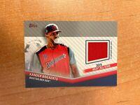 2020 Topps Update - Xander Bogaerts - 2019 All Star Jersey Relic RED SOX