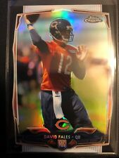 David Fales 2014 Topps Chrome Black Refractor Rookie /399 Chicago Bears RC