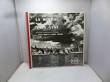 SMETANA LA MOLDAU GRIEG PEER GYNT FONTANA 875008FY   LP  VINYL