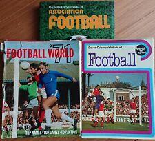 Football Books 1971 & 1972