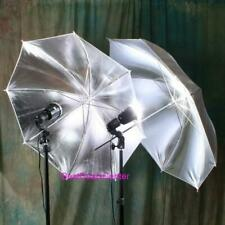 "2 Brand New 33"" Reflective Umbrella Softbox Tent Cube"