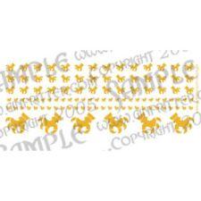 Ginfritter's Gnomish Workshop CLAW004 Brazen Claw Gold Decals + Warhammer