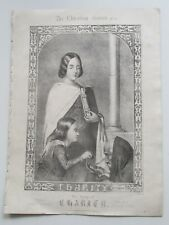 CHARLES JEFFERYS CHARITY c.1850 ANTIQUE VICTORIAN SHEET MUSIC CHRISTIAN GRACES*