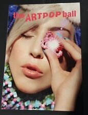 Lady Gaga artRAVE The ArtPop Ball 2014 Tour Hardcover Full-Color Program