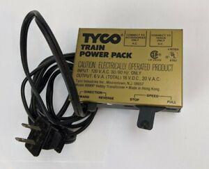 Vintage Tyco Train Power Pack Model 899BP
