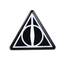 Genuine Warner Bros Harry Potter Deathly Hallows Hogwarts Pin Badge Ideal Gift