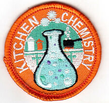 """""""KITCHEN CHEMISTRY""""- IRON ON EMBROIDERED PATCH - SCHOOL - LEARNING - RESEARCH"""