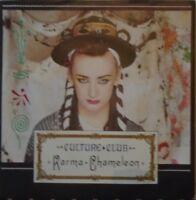 "CULTURE CLUB - Karma Chameleon ~ 7"" Single PS"