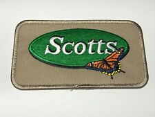 Scotts Lawn Care Company Logo Butterfly Outdoor Embroidered Iron Sew Patch B
