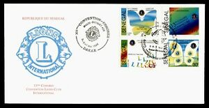 DR WHO 1994 SENEGAL FDC LIONS INTL 13TH CONVENTION  C242592