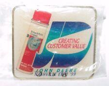 John Deere 1999 Nashville TN Customer Value Expo Employee Lapel Hat Pin Pinback