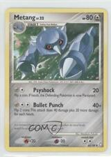 2008 Pokémon Legends Awakened Booster Pack Base #65 Metang Pokemon Card 4w6