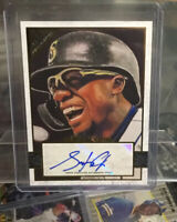 2020 Topps Gallery SHED LONG AUTO Seattle Mariners Autograph