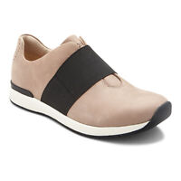 Vionic Womens Cosmic Codie Taupe Walking Shoes Size 5