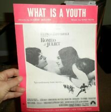 What Is A Youth ROMEO & JULIET Sheet Music for PIANO, VOCAL, GUITAR 1969