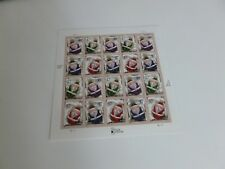 United States Scott #3886a the Christmas - Santa Claus Ornaments Sheet of 20 Mnh