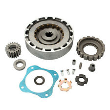 ATV Bike 18 Teeth Engine Clutch Plate Assembly Reverse Fit For 110cc 120cc 125cc