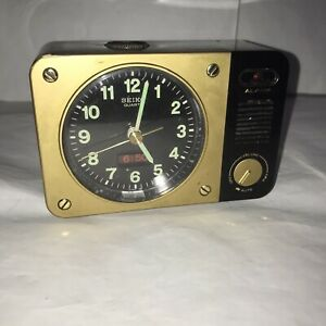Rare Vintage Seiko Quartz Alarm Clock