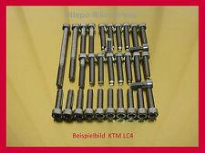 KTM LC4  LC 4 620 640 660 V2A Schrauben Edelstahlschrauben Motorschrauben o.Anl.