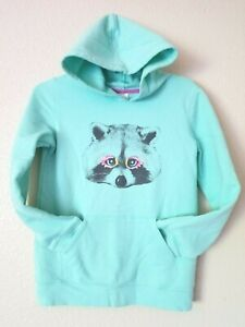 Cute Warm Girl's  CAT & JACK Size XL 14-16 Pullover Hoodie Top with Pocket