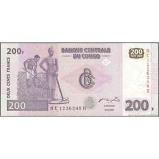 TWN - CONGO DEM. REP. 99A - 200 Francs 31/7/2007 UNC NC-H (HdM)