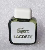 VTG Mini Eau Toilette ✿ LACOSTE pour HOMME ✿ Perfume Parfum PARIS (4ml) NEW