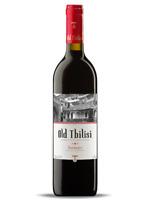 Rotwein Georgien Old Tbilisi Saperavi Rotwein trocken 0,75L Вино красное