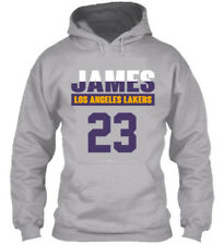 LEBRON JAMES 23 - KIDS YOUTH BOY SWEATSHIRT HOODIE LOS ANGELES LA, SZ S-XL