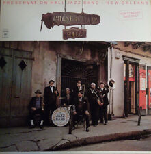 """Preservation Hall Jazz Band New Orleans Vol 1-3 LP 12""""33rpm US stereo vinyl (nm)"""