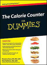 THE CALORIE COUNTER For DUMMIES by Rosanne Rust New Paperback BOOK Free Shipping