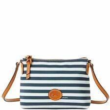 Dooney & Bourke Sullivan Crossbody Pouchette Shoulder Bag Navy Green