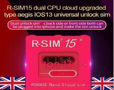 Newest R-SIM15 Nano Unlock RSIM Card for iPhone 11 Pro X Max 8 7 6 U.K. Seller