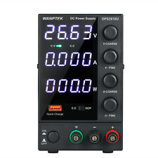 10A 30V Lcd Digital Dc Power Supply Variable Adjustable Lab Test Equipment U4C8