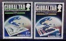 GIBRALTAR 1984 Europa Telecommunications. Set of 2. Mint Never Hinged. SG504/505