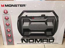 Monster Nomad Bluetooth Wireless Portable Audio System Speaker Black