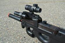 Full-Auto Belgium D90H Airsoft SMG Assault Rifle/AEG/Gun + MANY EXTRAS