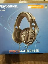 BRAND NEW IN BOX! PLANTRONICS RIG 400HS - PLAYSTATION GAMING HEADSET FOR PS4