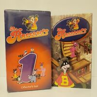 THE RACCOONS CBC VHS COLLECTORS SET SEALED + #2 TAPE